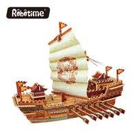 Schiff Modellbausatz Kinderpädagogisches Spielzeug der Piraten 3D 3D Puzzles