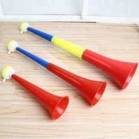 Wholesale trumpet speaker - Cheering Horn World Cup Refueling Horn Noise Maker Football European Cup Bar Party Props Cheer Up Trumpet Fan Horns Loud Speaker