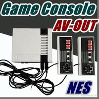 Wholesale videos host - free EMS Nostalgic Host Sale Mini TV RCA Video AV-OUT Game Console Handheld mini pc for NES Games with retail box A-JY
