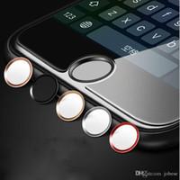 Wholesale fingerprint identification - iPhone6s button Apple 6 home button paste iPhone7 plus fingerprint identification key wholesale