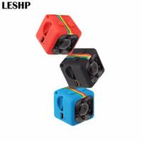lityum video kameralar toptan satış-Mini Taşınabilir Kamera 1080 P HD 360 derece Kamera Lityum Pil Ses Video Kaydedici Spor DV Kamera Desteği TF Kart TV OUT