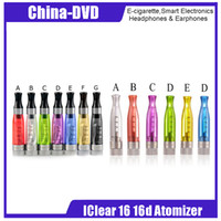 atomizador de doble bobina iclear 16d al por mayor-Original Innokin iClear 16 iClear 16D 1.6ml Bottom Dual Coil Atomizer Ego Atomizer iClear16D 510 Thread Atomizer