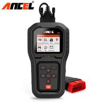 obd multi оптовых-Ancel AD510 Pro OBD2 двигателя автомобиля диагностический инструмент OBD 2 EOBD код читателя сканирования инструмент мульти-языки автомобильный диагностический сканер
