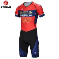 Wholesale men cycling skinsuit - 2018 Cycling Skinsuit Men's Sports Clothing Cycling Clothing Pro Team Ropa De Ciclismo Maillot Cycling Jersey Sets Bike Bicycle Clothes