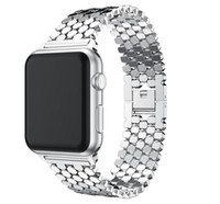 Wholesale bracelet accessories for sale for sale - Hot sale Stainless Steel Watchbands Wrist For Iwatch Apple Men Watch Band Strap Women Bracelet Accessories Sport serise mm mm