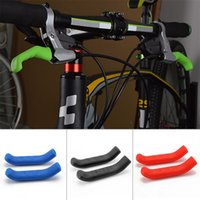 Wholesale road brake levers for sale - Group buy Silicone Brake Handle Lever Protection Cover Universal Type Protector Sleeve For Mountain Road Bike Brakes Covers qt Ww