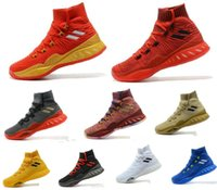 Wholesale Youth Basketball Shoes Cheap - Men's Basketball Shoes Cheap Crazy Explosive Red White Black Andrew Wiggins Crazy Explosive Youth Wall 3 Boost Sport Sneakers Size 7-12