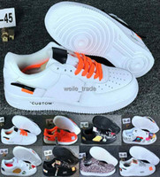 Wholesale mens sport leisure shoes for sale - Group buy off New Arrival Forces Mens Womens Skateboarding Shoes one Designer White Black Fashion Casual Running Sports Sneakers Trainers Chaussures