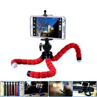 Wholesale camera tripod legs - Flexible Octopus Leg Phone Holder Bicycle Car Style Mobile Phone Holder Selfie Stand Tripod Support For Phones Camera