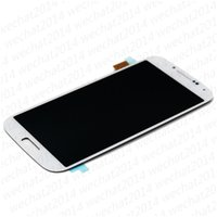 Wholesale touch display for samsung galaxy s3 resale online - 50PCS LCD Display Touch Screen Digitizer Assembly Replacement Parts for Samsung Galaxy S3 i9300 S4 i9500 S5 i9600 G900 with Frame