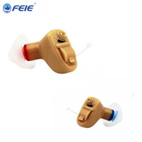 Wholesale fast drops - Hearing Aids Device Invisible Digital Sound Amplifier Audiphone cic Device S-9A Home use type Fast Ship Drop