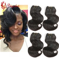 "Wholesale short human hair weaves - Brazilian Body Wave 4 Bundles 8"" Inch Short Human Hair Extensions 7A Grade Brazilian Virgin Human Hair Weave Bundles 50g Pcs Total 200g"