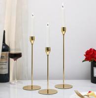 Votivkerzenhalter Großhandel Hochzeit Tisch Herzstück Kerzenhalter, Gold  Kristall Kandelaber 5 Arme, Hohe Kristall