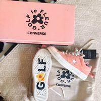 Wholesale yellow hip hop shoes - New Arrival Kanye West One Star x Golf le Fleur TTC Sneakers Jolly Hip Hop Trainers Shoes Canvas shoes Women Men FOG 4 Color Yeezus With box