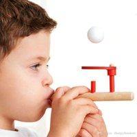 golpe de juguete al por mayor-Al por mayor- Nueva espuma flotante Blow Ball Game Classic Children Early Educational Fun Toy