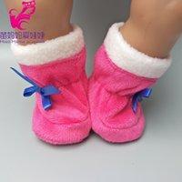 ingrosso scarpe da bambola per il bambino-16 pollici e 18 pollici zapf bambino nato scarpe da bambola per 18