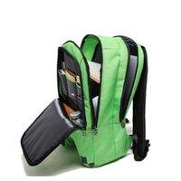Wholesale Creeper Bags - 2018 New Minecraft Backpacks Minecraft Bags School Bags Minecraft Creeper backpacks Schoolbag Mochila Double Shoulder Bag