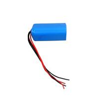 pacote de bateria recarregável de 3.6v venda por atacado-1S3P 3.7 v 6000 mah bateria com PCB protegido e BAK 18650 H18650CC dentro 18650 bateria recarregável para lanterna