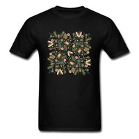 ingrosso maglia oversize nera-Eco Friendly BUGS Galore Top TShirt Divertente T-shirt Oversize Mens T Shirt Nero Tees manica corta Tessuto di cotone Vestiti regalo