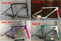 Wholesale 80 COLORS MATTE Glossy mix Carbon Road Bike Frames UD Weave Bicycle Frameset Fork Seatpost Headset Clamp