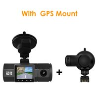 Wholesale Gps Camera Parking Sensor - 2017 New Arriving Vantrue N2 1080P FHD Dual Lens Car DVR Video Recorder Wide Angle Car Camera GPS G-Sensor Parking Mode Dash Cam