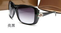 óculos de rocha venda por atacado-Óculos de sol ovais pretos Alien Shades Óculos de sol Punk Rock Óculos 3166