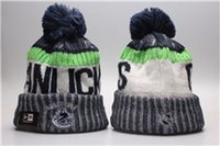Wholesale Penguin Knitting - 2018 Newest Knitted NHL Wool Hat Gorro Bonnet with San Jose Sharks Beanie Boston Bruins Pittsburgh Penguins Winter Warm Cap