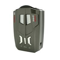 vehicle venda por atacado-Detector de Radar Do Veículo V9 360 Graus Car Trucker Velocidade Aviso de Alerta de Voz 16 Banda Auto 12 V Display LED