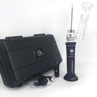 e kit de iniciação vaporizador venda por atacado-Alta qualidade kits de vapor de cera kits de vapor portátil dab vaporizador h enail henail Mais g9 controlador de temperatura e unha Para concentrado de cera