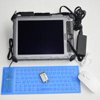 Wholesale laptop sata mini resale online - High Quality Xplore Ix104 C5 Tablet Diagnosis Laptop with mini sata SSD win7 system for BMW ICOM auto scanner