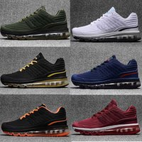 Wholesale Maxs Shoes - 2017 New MAXES 360 KPU Running Shoes for Men 360 Maxs KPU Runs Sports Shoe High Quality Trainers Brand Maxes Sneakers Size 40-47