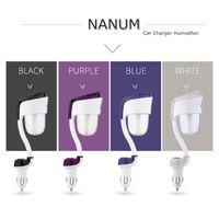 nanum diffusor großhandel-NANUM II Luftbefeuchter Autoladegerät mit Single Dual USB-Ports Ätherisches Öl Aroma Diffuser Nebel Luftreiniger Lufterfrischer