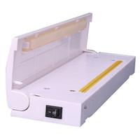ingrosso sigillato sigillato-1pc portatile Mini vuoto sottovuoto macchina Impulse Sealer Seal Packing Sacchetto di plastica Kit vuoto Resealer Drop Shipping