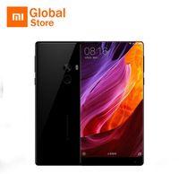 xiaomi phone al por mayor-Versión global Original Xiaomi Mi MIX teléfono inteligente de 6,4 pulgadas en pantalla completa Snapdragon 821 6GB RAM 256 GB ROM 2040x1080P xiaomi teléfono