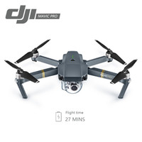 Wholesale dji gps - DJI Mavic Pro Fly Folding FPV Drone With 4K HD Camera OcuSync Live View GPS GLONASS System RC Quadcopter dhl