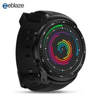 3g spor toptan satış-Zeblaze THOR Pro 3G GPS WIFI Akıllı İzle Erkekler Spor Smartwatch Android 5.1 MTK6580 Dört Çekirdekli 1 GB 16 GB Kamera Spor Akıllı Saatler