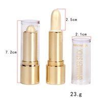 Wholesale bright foundation - DHL free HANDAIYAN Whitening Bright Color Long-lasting Concealer Foundation Highlight Three-dimensional High Light Repair Rod 3 Colors