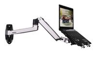 laptops de liga venda por atacado-Liga de alumínio suporte de montagem de parede de braço de mola mecânica laptop suporte de movimento completo laptop montar suporte de monitor de braço