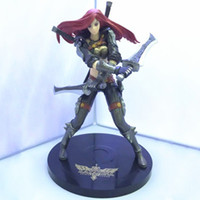 Wholesale league legends anime online - Anime Game League of Legends The Sinister Blade Katarina Action Figure Toy Doll Brinquedos Figurals Collection LOL Model Gift