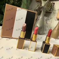 make-up schönheit kits großhandel-Neue 3 Farben Tom Makeup Matte Lippenstift bilden Lippenstifte Lippen Kit Beauty Cosmetics Maquiagem Kit