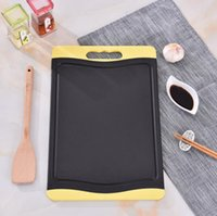 Wholesale Fruit Chopping Board - Bamboo Charcoal Chopping Blocks Antimicrobial Protection Cutting Board Chopping Board Vegetable Fruit Blocks Kitchen Tools OOA4182