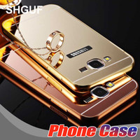 Wholesale 24k plated red gold - For Samsung Galaxy S 6 7 8 9 Prime note8 HUAWEI Case Luxury Mirror acrylic PC back 24K Gold-plated Flame Cell phone cases Free shipping
