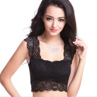 bf40026414 20PCS LOT SINGYOU Summer Hot Style New Lace Underwear No Steel Ring Bra  Sexy Lace Tube Top Women Crop Top