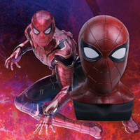 Wholesale Avengers Cosplay - BFJ 2018 Hot Movie Avengers: Infinity War Masks Spiderman Masks Cosplay Superhero Spider Man Masks Halloween Props