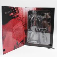 Wholesale play kai arts figure - KAI HITMAN ABSOLUTION AGENT 47 PVC Figure Collectible Toy 23cm KT4124 play arts