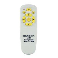 aprendizaje a distancia al por mayor-CHUNGHOP 1 UNIDS L181 Control Remoto Universal Combinacional MINI Control remoto de aprendizaje Para TV / SAT / DVD / CBL / DVB-T / AUX copia