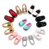 bebé recién nacido sandalias al por mayor-Zapatos de bebé de la manera verano primeros caminantes para bebés Sandalias de niño para la venta recién nacido Foot Wear fotografía Props Boutique Shoes bebé