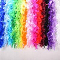 embalagens de penas venda por atacado-500 pcs / Moda Criativa Home Decor Penas de Fogo Grande Bouquet de Penas de Embalagem de Dança Show de Casamento Para Baixo Pena Decoração 40g