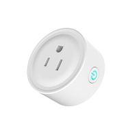 ingrosso interruttore wifi di uscita-Smart Wifi Presa Interruttore Round US Plug Presa Telecomando Interruttore di temporizzazione per Smartphone Android IOS Home Automation
