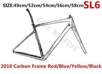 w краска оптовых-2019 лучшие продажи Китай OEM углерода рама S-W модель T1100 UD 1K углерода дорожный велосипед рама BB30/BB68 принять индивидуальные краски